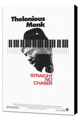 Thelonious Monk: Straight, No Chaser - 11 x 17 Movie Poster - Style A - Museum Wrapped Canvas