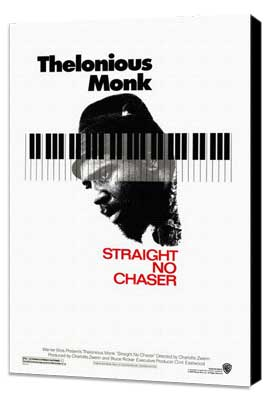 Thelonious Monk: Straight, No Chaser - 27 x 40 Movie Poster - Style A - Museum Wrapped Canvas