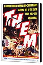 Them! - 11 x 17 Movie Poster - Style A - Museum Wrapped Canvas