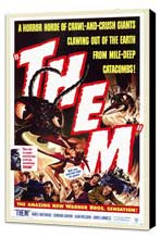 Them! - 27 x 40 Movie Poster - Style A - Museum Wrapped Canvas