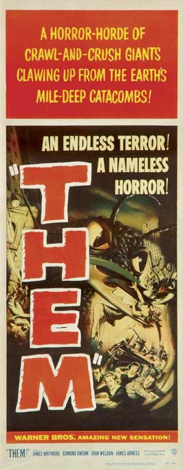 Them! - 14 x 36 Movie Poster - Insert Style A