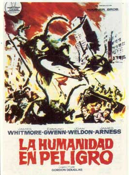 Them! - 11 x 17 Movie Poster - Spanish Style B