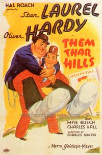 Them Thar Hills - 43 x 62 Movie Poster - Bus Shelter Style A