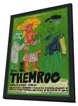 Themroc - 11 x 17 Movie Poster - French Style A - in Deluxe Wood Frame