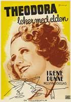 Theodora Goes Wild - 11 x 17 Movie Poster - Swedish Style A