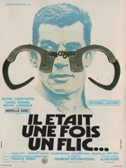 There Was Once a Cop - 11 x 17 Movie Poster - French Style A
