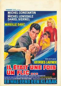 There Was Once a Cop - 11 x 17 Movie Poster - Belgian Style A