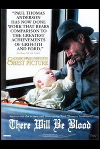 There Will Be Blood - 27 x 40 Movie Poster - Style D