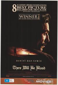 There Will Be Blood - 43 x 62 Movie Poster - Bus Shelter Style D