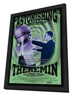 Theremin: An Electronic Odyssey - 11 x 17 Movie Poster - Style A - in Deluxe Wood Frame