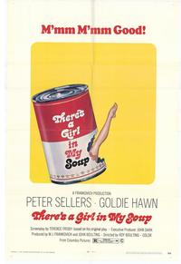 There's a Girl in My Soup - 11 x 17 Movie Poster - Style A