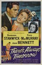 There's Always Tomorrow - 27 x 40 Movie Poster - Style C