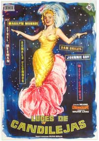 There's No Business Like Show Business - 27 x 40 Movie Poster - Spanish Style A