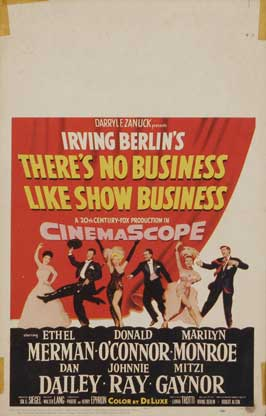 There's No Business Like Show Business - 11 x 17 Movie Poster - Style C