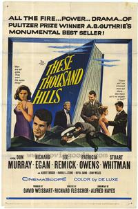 These Thousand Hills - 27 x 40 Movie Poster - Style A