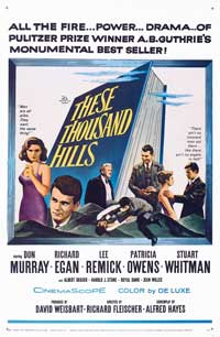 These Thousand Hills - 27 x 40 Movie Poster - Style B