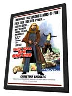 They Call Her One Eye - 27 x 40 Movie Poster - Style A - in Deluxe Wood Frame