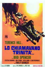 They Call Me Trinity - 27 x 40 Movie Poster - Italian Style A
