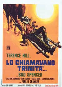They Call Me Trinity - 11 x 17 Movie Poster - Italian Style A