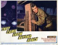 They Came from Beyond Space - 11 x 14 Movie Poster - Style G