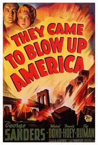 They Came to Blow Up America - 27 x 40 Movie Poster - Style A