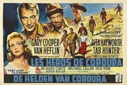 They Came to Cordura - 11 x 17 Movie Poster - Belgian Style A