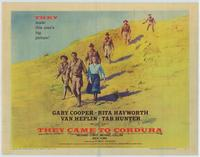 They Came to Cordura - 22 x 28 Movie Poster - Half Sheet Style A