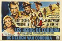 They Came to Cordura - 27 x 40 Movie Poster - Belgian Style A
