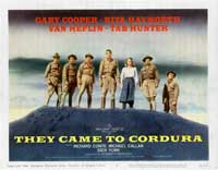 They Came to Cordura - 22 x 28 Movie Poster - Half Sheet Style B