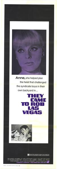 They Came to Rob Las Vegas - 27 x 40 Movie Poster - Style D