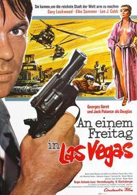 They Came to Rob Las Vegas - 11 x 17 Movie Poster - German Style B