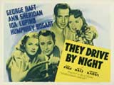 They Drive by Night - 11 x 14 Movie Poster - Style C