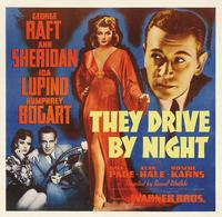 They Drive by Night - 11 x 17 Movie Poster - Style B