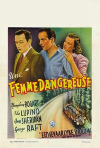 They Drive by Night - 27 x 40 Movie Poster - French Style B