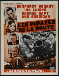 They Drive by Night - 11 x 17 Movie Poster - Belgian Style A