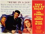 They Live by Night - 11 x 14 Movie Poster - Style A