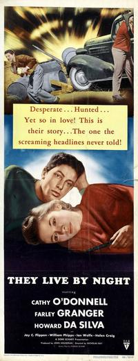 They Live by Night - 14 x 36 Movie Poster - Insert Style A