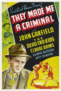 They Made Me a Criminal - 27 x 40 Movie Poster - Style C