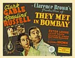 They Met in Bombay - 11 x 17 Movie Poster - Style A