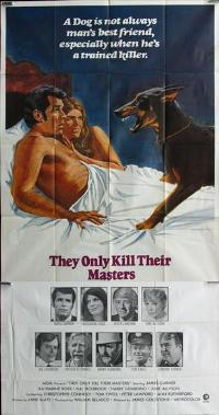 They Only Kill Their Masters - 11 x 17 Movie Poster - Style B