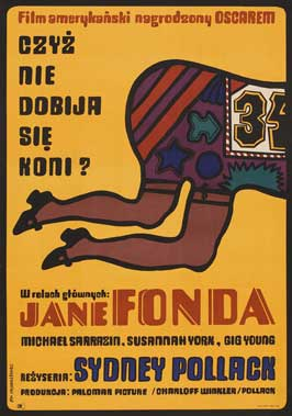 They Shoot Horses, Don't They? - 27 x 40 Movie Poster - Polish Style A