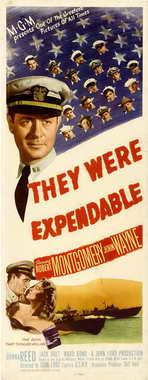 They Were Expendable - 14 x 36 Movie Poster - Insert Style A