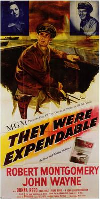 They Were Expendable - 11 x 17 Movie Poster - Style A