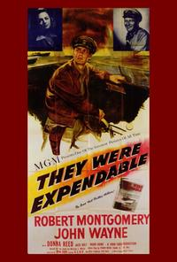 They Were Expendable - 27 x 40 Movie Poster - Style A