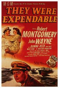 They Were Expendable - 27 x 40 Movie Poster - Style B