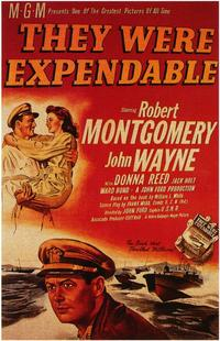 They Were Expendable - 43 x 62 Movie Poster - Bus Shelter Style A