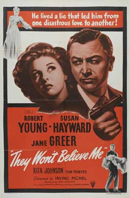 They Won't Believe Me - 27 x 40 Movie Poster - Style B