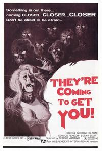 They're Coming to Get You - 27 x 40 Movie Poster - Style A