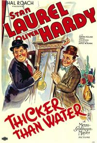 Thicker Than Water - 11 x 17 Movie Poster - Style A