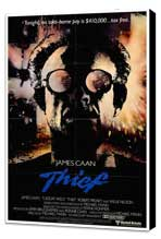 Thief - 27 x 40 Movie Poster - Style A - Museum Wrapped Canvas